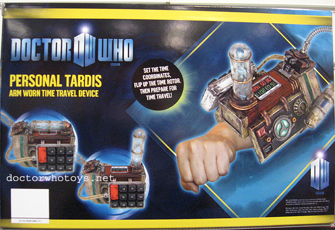 Personal Tardis Arm Worn Time Travel Device
