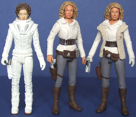 River Song Series 4, River Song From Series 5 & River Song With Pandorica Chair