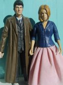 Custom The Doctor and Rose Tyler as seen in The Idiot's Lantern (2006)