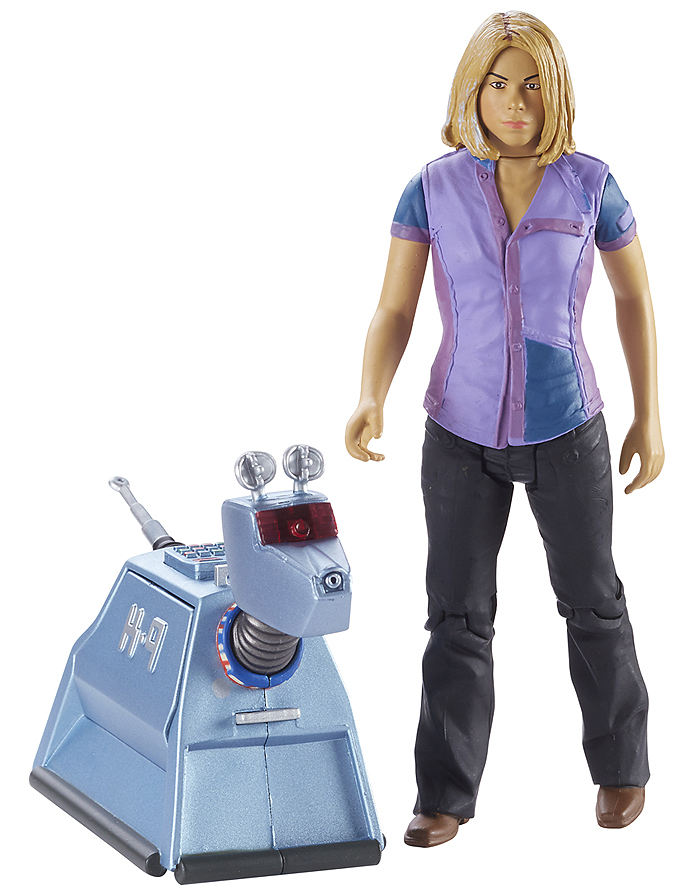 Rose Tyler With K9