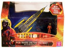 Micro Universe Sanctuary Base Rocket with Doctor in Spacesuit Figure - Thanks Kyle