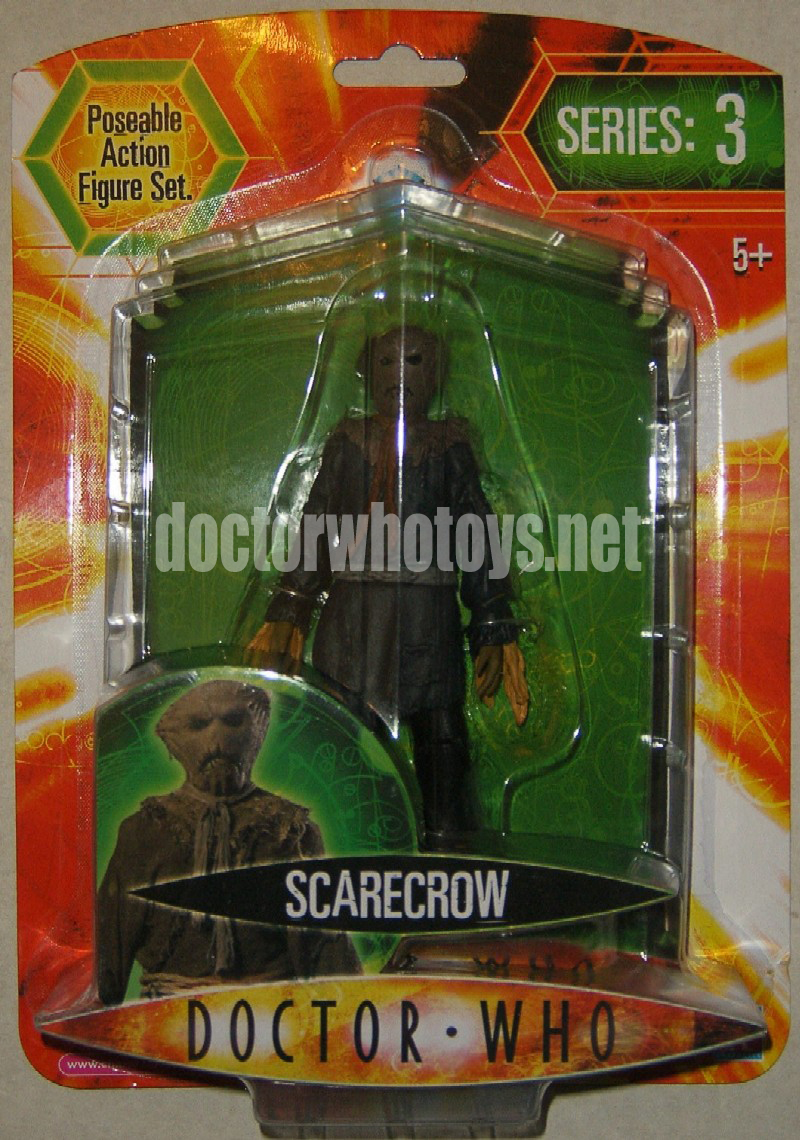 Doctor Who Series 3 Action Figure Scarecrow (Blue/Black)