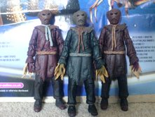 Doctor Who Series 3 Action Figures - Scarecrow (Blue Tie), Scarecrow (Blue/Black Tunic) and Scarecrow (Brown Tie)