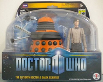 SDCC/FPI Exclusive Eleventh Doctor & Dalek Scientist