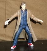 10th Doctor in Action Stance
