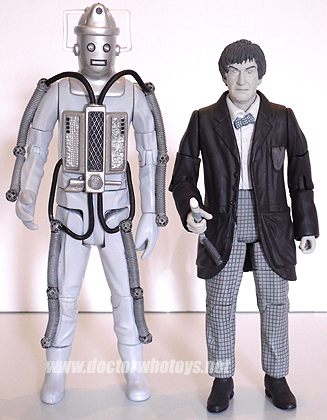 The Second Doctor Patrick Troughton u0026 Cyberman (Tomb of the Cybermen 1967) - Limited ... & Doctor Who Action Figures - The Second Doctor