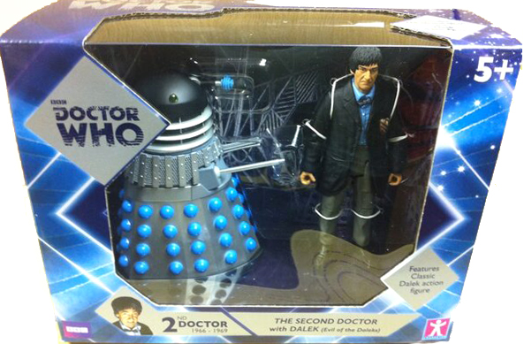 Second Doctor with Dalek