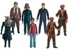 Series 3 Action Figures: Brannigan, Dalek Sec Hybrid, The Doctor, Scarecrow (Grey Tie), Judoon Captain, Martha Jones and Scarecrow (Brown Tie)