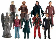 Series 3 Action Figures: Professor Yana, Scarecrow (Grey Tie), Lilith, Laszlo, Weeping Angel, Martha (Version 2), Judoon Captain (Grey), The Doctor in SS Pentallion Space Suit and The Master