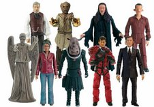 Series 3 Action Figures: Professor Yana, Scarecrow Beige, Lilith, Laszlo, Screaming Angel, Martha (Version 2), Judoon Captain (Grey), The Doctor in SS Pentallion Space Suit and The Master
