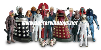 Series 4 Dr Who Action Figures