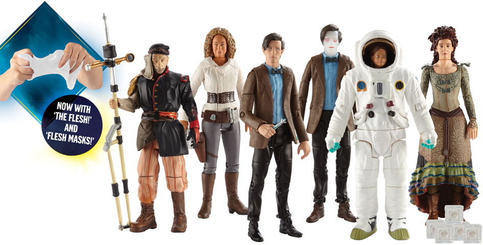 Doctor Who Figures Series 6 Wave 2B