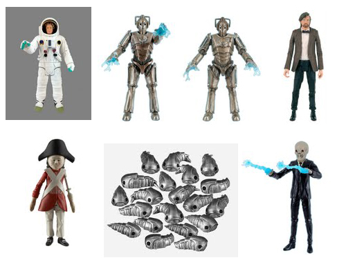 Doctor Who Figures Series 6 Wave 2D