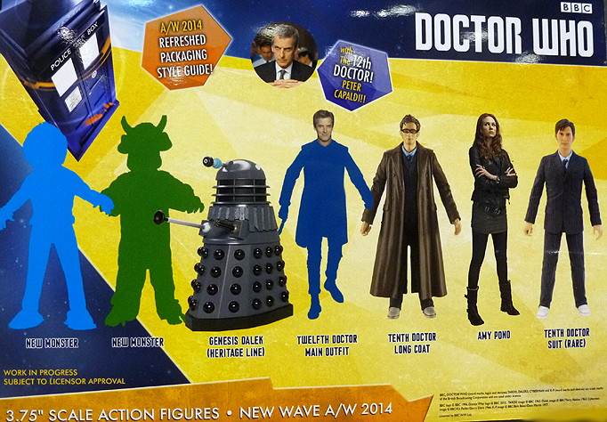 Series 8 Wave Doctor Who Figures