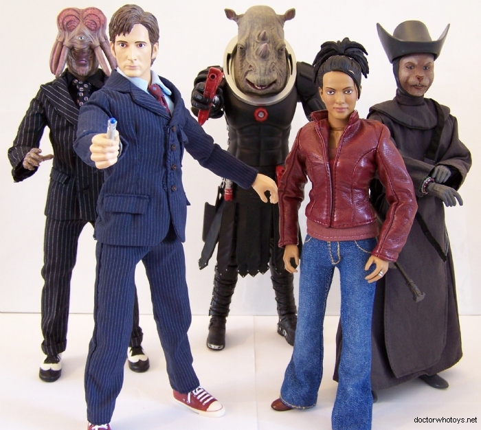 Doctor Who Series Three 12 Inch Action Figures