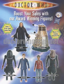 Series 3 Doctor Who Action Figures Poster