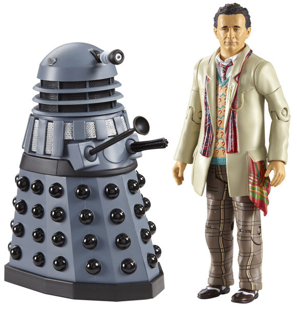 Seventh Doctor with Dalek