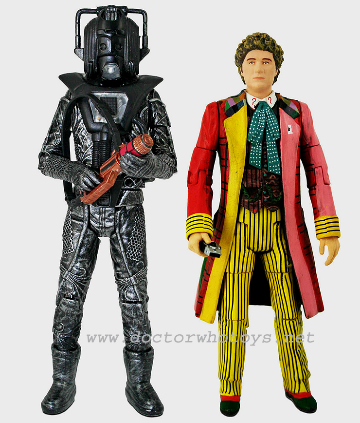 The Sixth Doctor Colin Baker & Stealth Cyberman