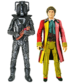 Sixth Doctor & Stealth Cyberman