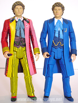 the two costumes