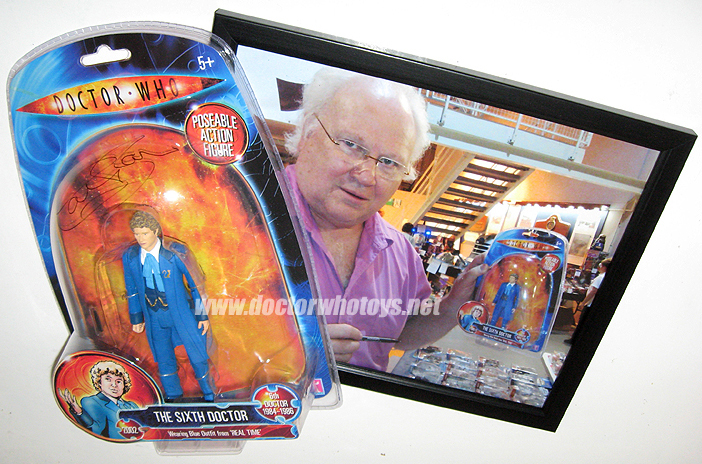 Sixth Doctor Colin Baker