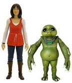 Sarah Jane Smith & Slitheen Baby