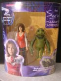 Sarah Jane Smith & Child Slitheen
