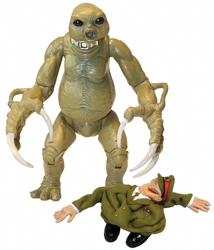 Slitheen with Skin Suit Action Figure