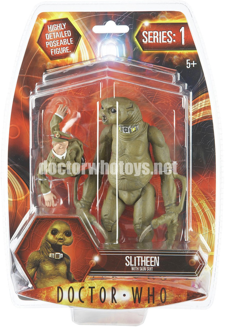 Slitheen with Skin Suit