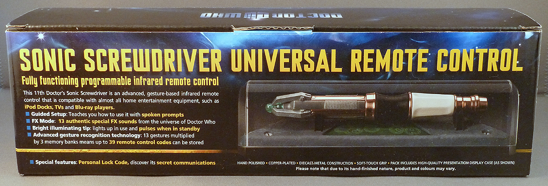 The Wand Company Sonic Screwdriver Universal Remote Control