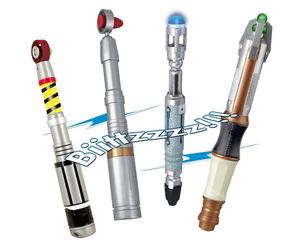Doctor Who Sonic Screwdriver Collection Wave 3