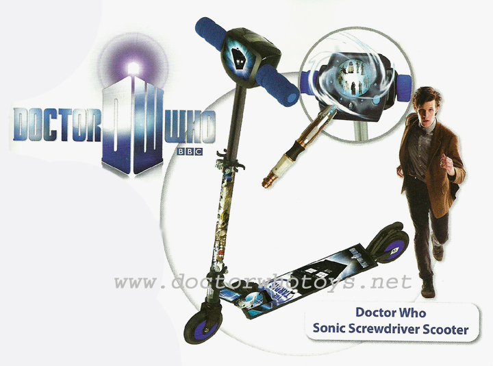 MV Sports Doctor Who Sonic Screwdriver Scooter