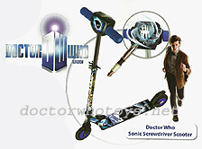 Doctor Who Sonic Screwdriver Scooter by MV Sports