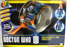 Character Building Sontaran Battle Pod Set