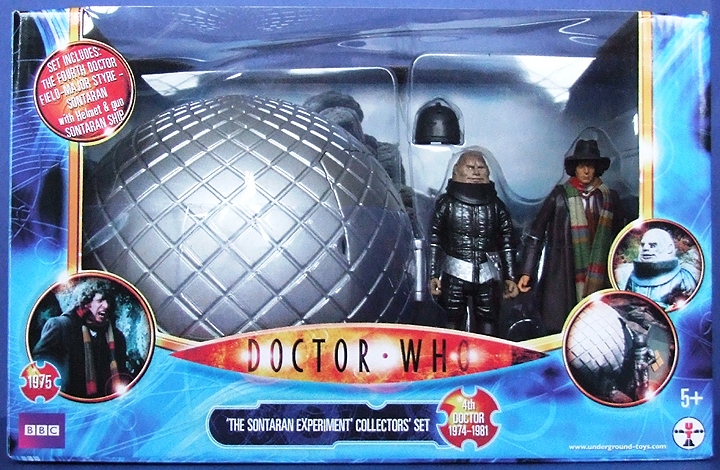 Sontaran Experiment Set - Thanks Cyberlek