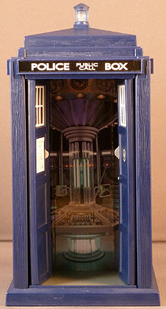 Spin and Fly Tardis Interior