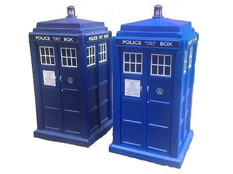 Spin and Fly Tardis Comparison