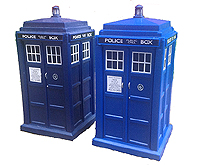 Mk 1 and Mk 2 Spin and Fly Tardis Comparison