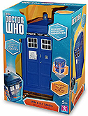2014 Series 8 Spin and Fly Tardis Variant with Revised Packaging and Lighter Blue Tardis