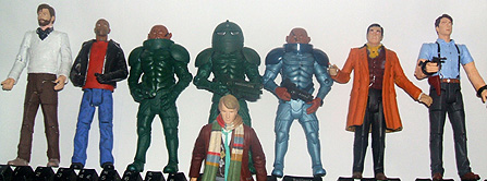 Dr Who Action Figure Customs