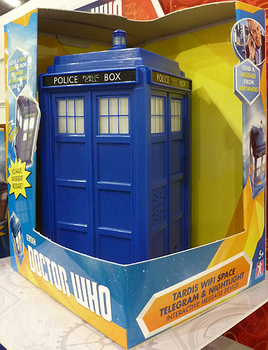 Tardis WiFi Space Telegram and Nightlight