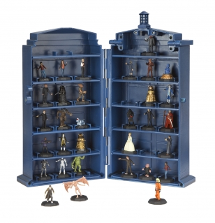 Micro Universe Tardis Collector Case with space for all 32 figures from Collection 1