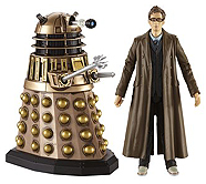 Tenth Doctor with Dalek