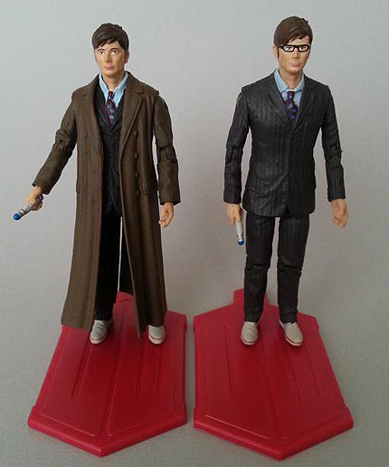 Tenth Doctor Comparison - Single Carded Vs The Day of the Doctor Set