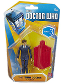 3.75 Inch Tenth Doctor in Blue Suit Figure