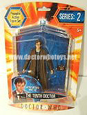 The Tenth Doctor with Portable 'Wire' Set