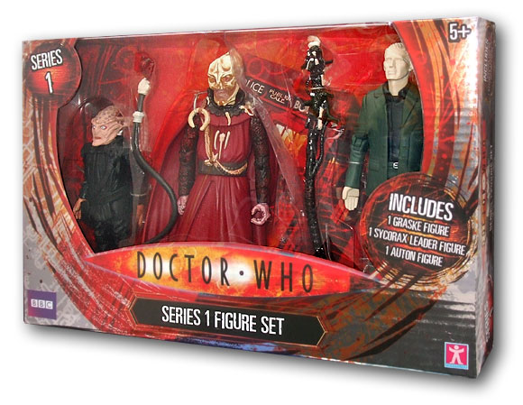 Tesco Doctor Who Series 1 Set