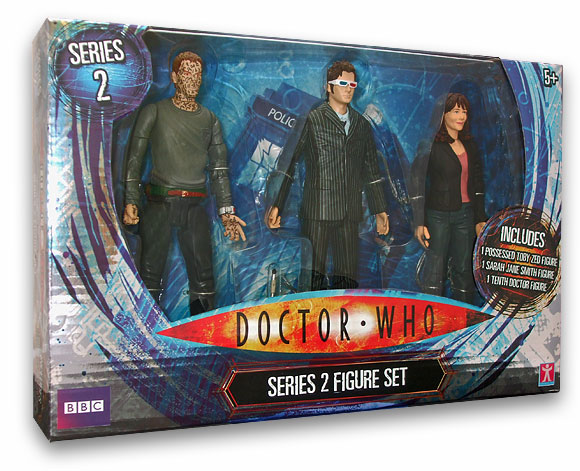 Tesco Doctor Who Series 2 Set