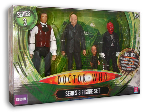 Tesco Doctor Who Series 3 Set