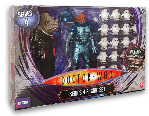 Tesco Doctor Who Series 4 Set